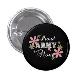 Proud Army Mom [fl c] Buttons