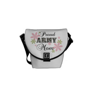 Proud Army Mom [fl c] Courier Bags
