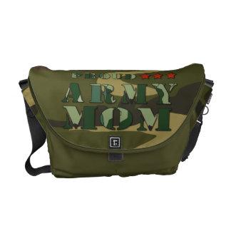 Proud Army Mom Mini Messenger Bag
