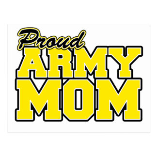 Proud Army Mom Post Card