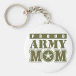 Proud Army Mum Keychains