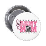 Proud Army Mum Pink Camo Pin