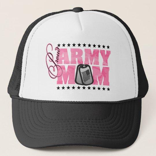 Proud Army Mum Pink Camo Trucker Hat