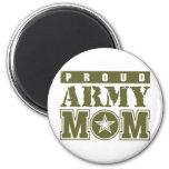Proud Army Mum Refrigerator Magnets