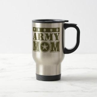 Proud Army Mum Stainless Steel Travel Mug