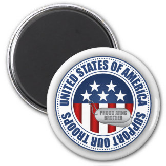 Proud Army National Guard Brother Refrigerator Magnets