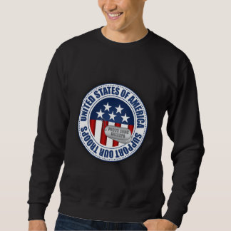 Proud Army National Guard Grandpa Sweatshirt