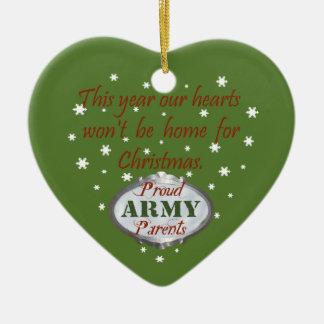 Proud Army Parents Ornament