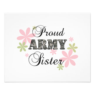 Proud Army Sister fl c Flyers