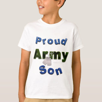 Proud Army Son Kids Tee