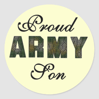 Proud Army Son Tshirts and Gifts Sticker