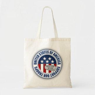 Proud Army Veteran Canvas Bags