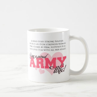 Proud Army Wife Coffee Mug