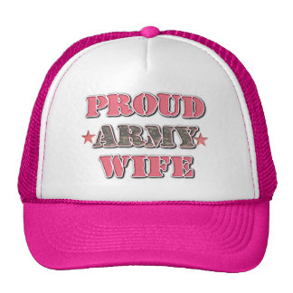 Proud Army WIfe Hat