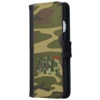 Proud Army Wife iPhone 6 Wallet Case