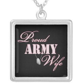 Proud Army Wife Pendants