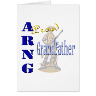 Proud ARNG Grandfather Greeting Card