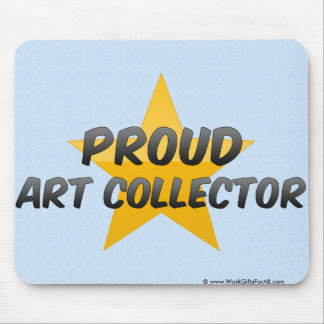 Proud Art Collector Mouse Pad