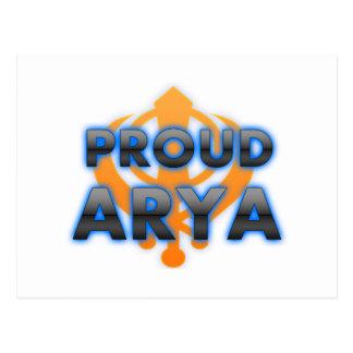 Proud Arya, Arya pride Postcard
