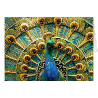 Proud as a Peacock Note Cards