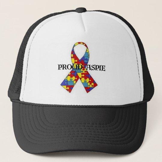 proud aspie trucker hat