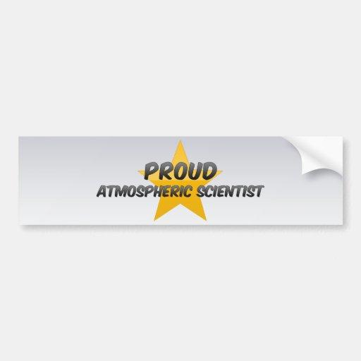 Proud Atmospheric Scientist Bumper Sticker