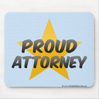 Proud Attorney Mouse Pads