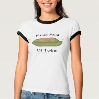 Proud Aunt Of Twins T-Shirt
