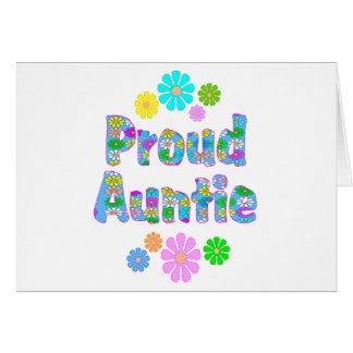Proud Auntie Card
