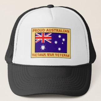 PROUD AUSTRALIAN VIETNAM WAR VET TRUCKER HAT