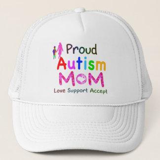 Proud Autism Mom Trucker Hat