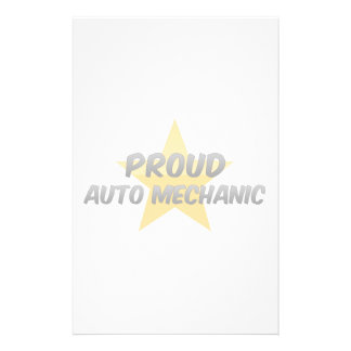 Proud Auto Mechanic Custom Stationery