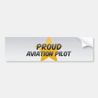 Proud Aviation Pilot Bumper Stickers