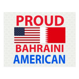 Proud Bahraini American Postcard