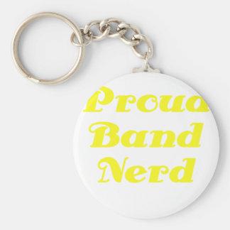 Proud Band Nerd Keychain