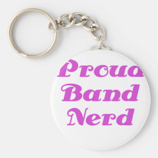 Proud Band Nerd Key Chain