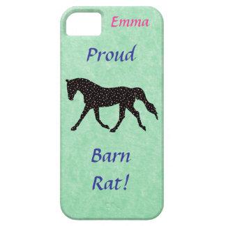 Proud Barn Rat Equestrian iPhone 5 Covers