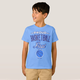 Proud Basketball Brat Kid's T-Shirt