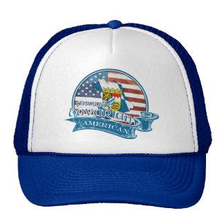 Proud Bavarian American Hat