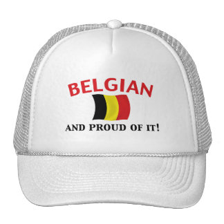 Proud Belgian Trucker Hat