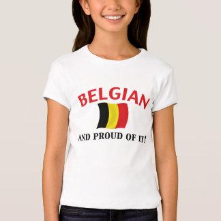 Proud Belgian T Shirt