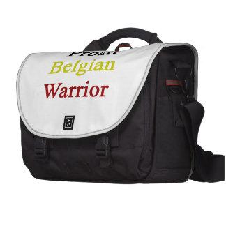 Proud Belgian Warrior Laptop Bag