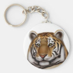 Proud Bengal Tiger Keychain