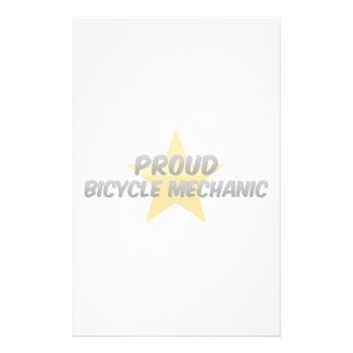 Proud Bicycle Mechanic Stationery Paper