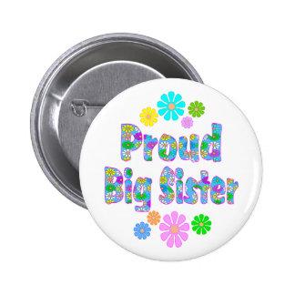 Proud Big Sister Pinback Button