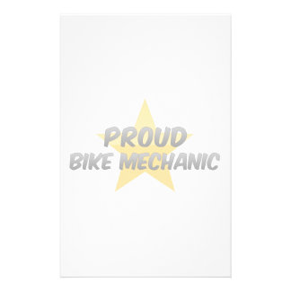 Proud Bike Mechanic Custom Stationery