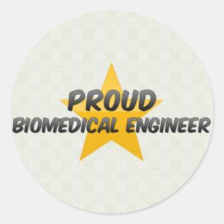 Proud Biomedical Engineer Sticker