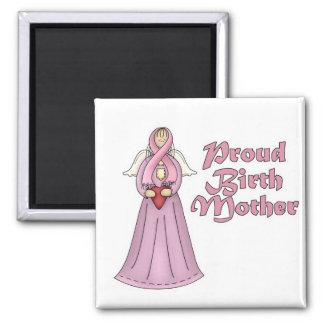 Proud Birth Mother Angel Design Refrigerator Magnets
