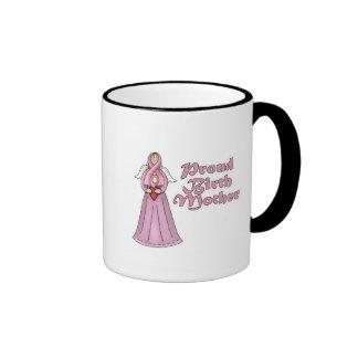 Proud Birth Mother Angel Design Mugs