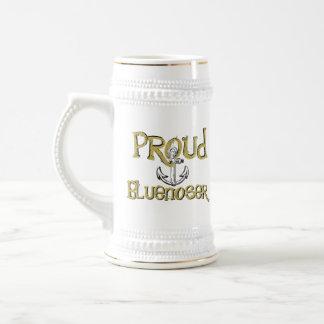 Proud Bluenoser Nova Scotia anchor beer stein mug